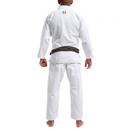 GRIPS ATHLETICS THE ITALIAN BJJ GI WHITE