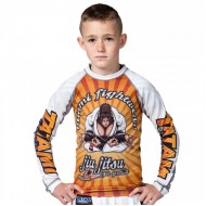 TATAMI KIDS ZEN GORILLA RASH GUARD