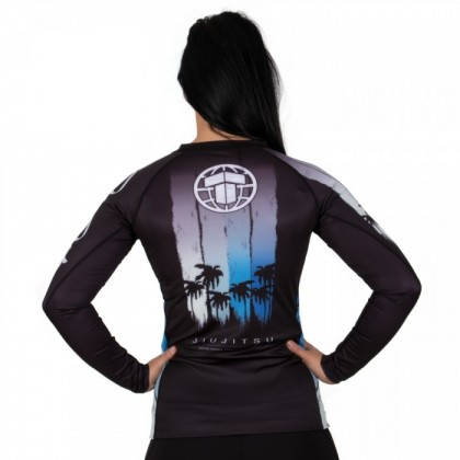 TATAMI LADIES GO WITH THE FLOW RASH GUARD