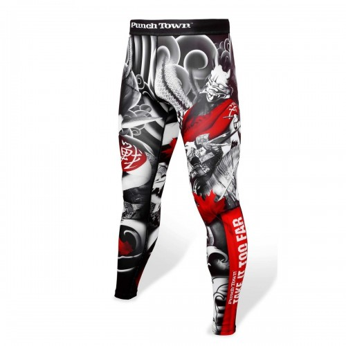 Image of Punchtown Oni Battle leggings