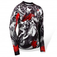 Punchtown Oni Battle Rash Guard