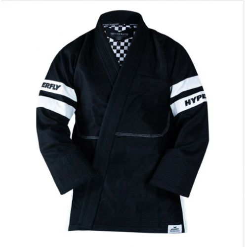 Image of Hyperfly The Racer BJJ Gi Black