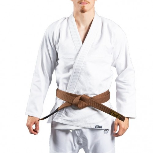 Image of SCRAMBLE STANDARD ISSUE V2 BJJ GI WHITE