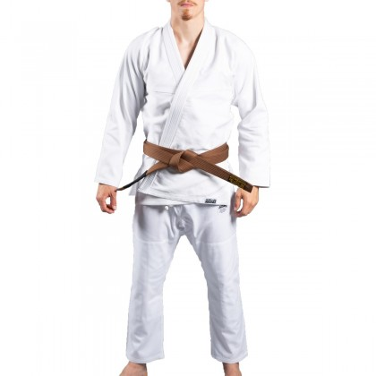 SCRAMBLE STANDARD ISSUE V2 BJJ GI WHITE
