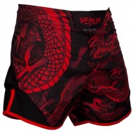 Venum Dragon's Flight Fight Shorts Red/Black