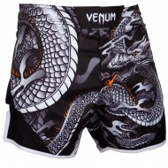 Venum Dragons Flight Fight Shorts Black/White